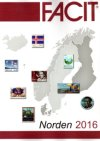 SCANDINAVIA FACIT - NORDEN stamps from 1951 - 2016 ed